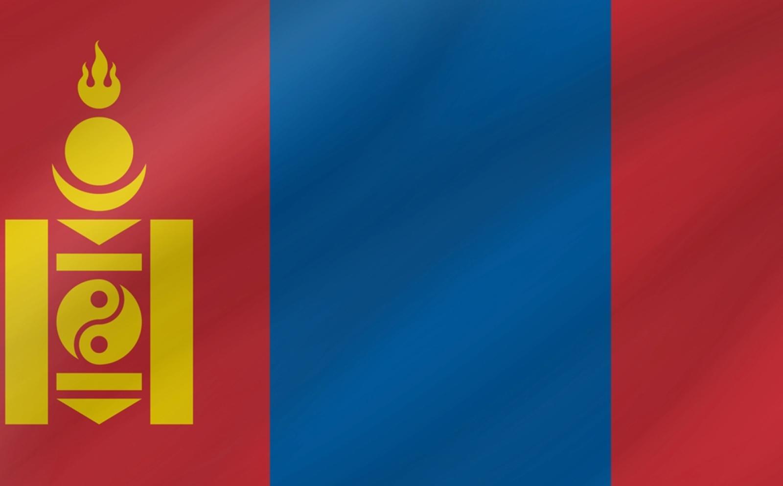 モンゴルの国旗